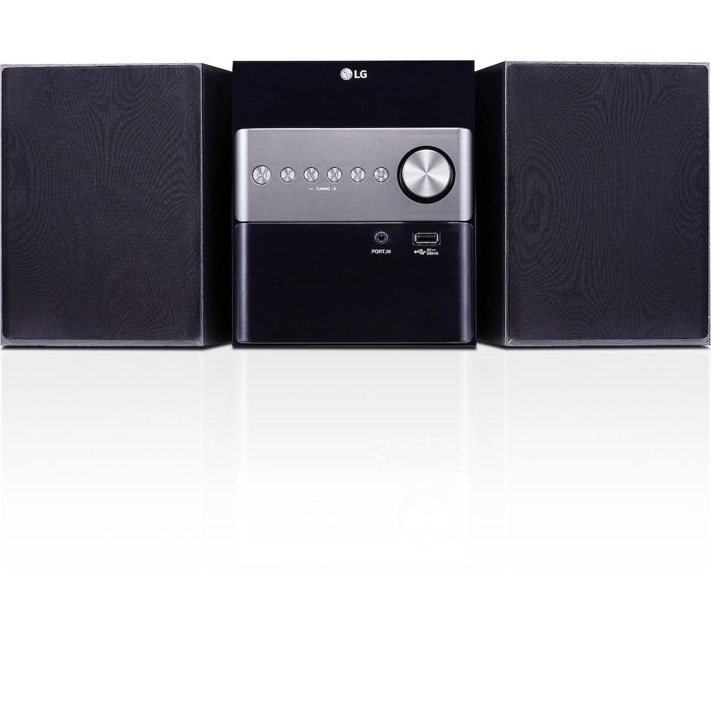 LG Microanlage »CM1560DAB«, (Digitalradio (DAB+) 10 W)
