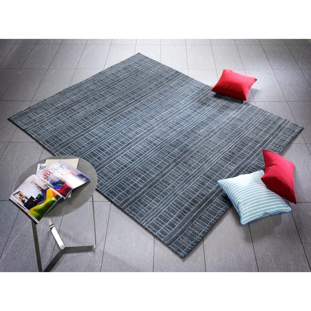OCI DIE TEPPICHMARKE Teppich »Delima Gewis«, rechteckig, 5 mm Höhe, handgeknüpft, Wohnzimmer