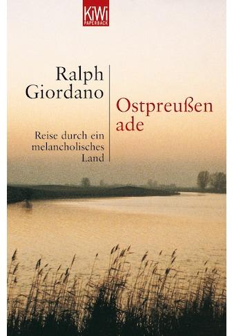 Buch »Ostpreussen Ade / Ralph Giordano« kaufen
