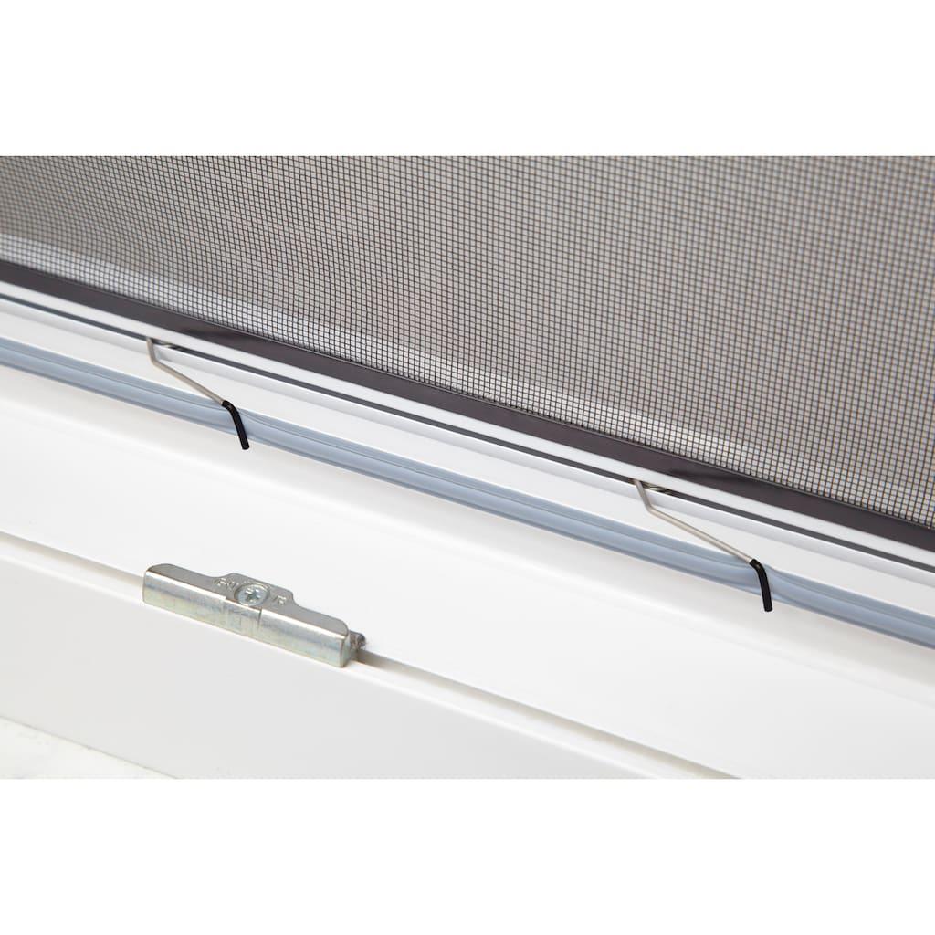hecht international Insektenschutz-Fenster »MASTER SLIM«, weiß/anthrazit, BxH: 100x120 cm