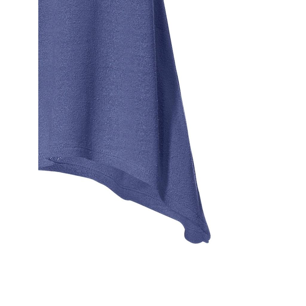 Longshirt aus reiner Seide