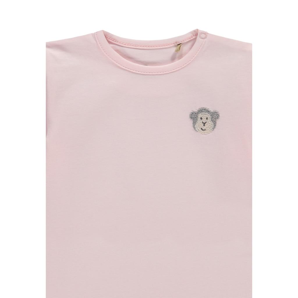 Bellybutton Langarmshirt, Äffchen Applikation