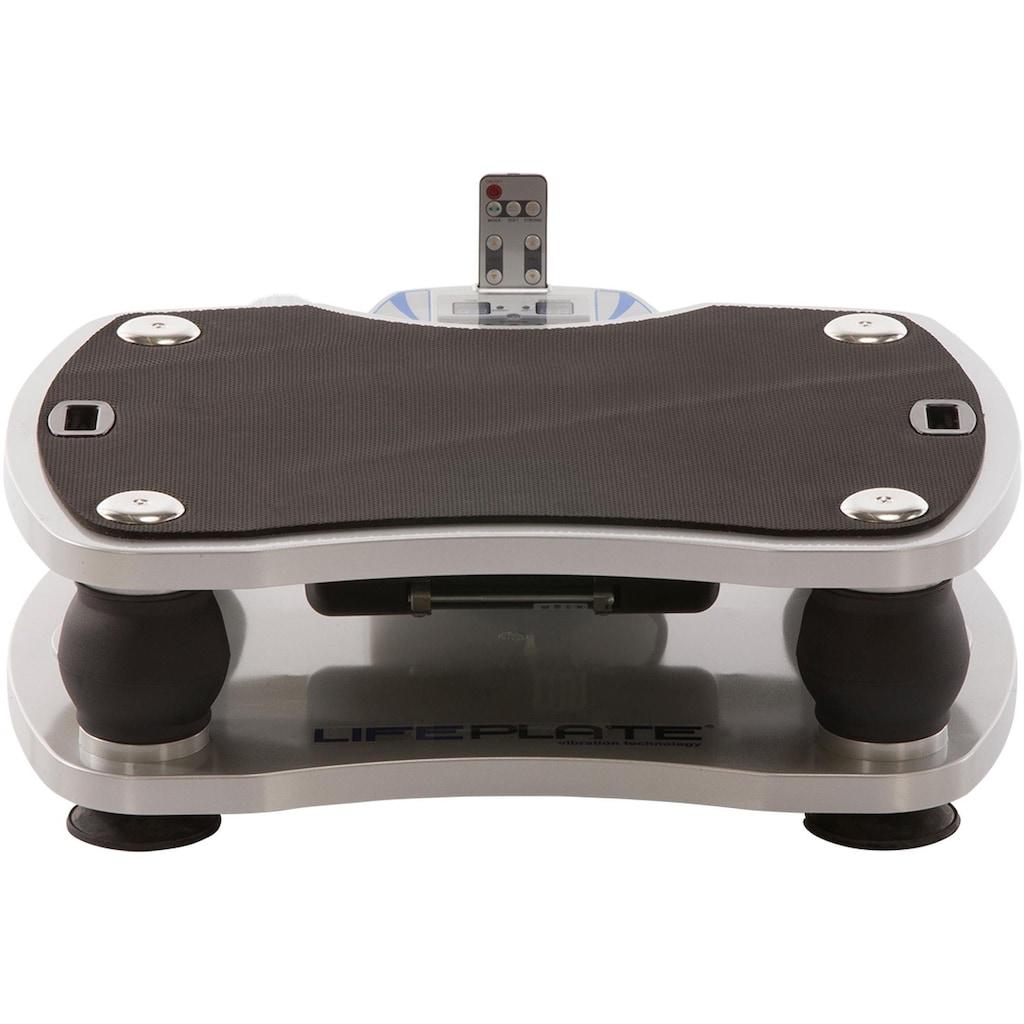 MAXXUS Vibrationsplatte »Lifeplate 1.0«, (Set, 3 tlg., mit Trainingsbändern-mit Trainingsplan)