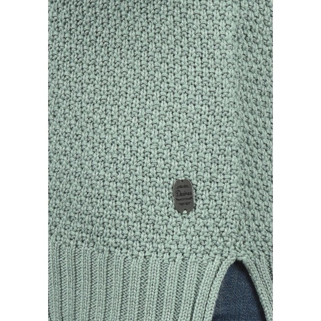 DESIRES Strickpullover »Ina«, Strickpulli lässig geschnitten