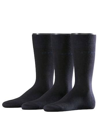 Esprit Socken »Solid 3-Pack«, (3 Paar), aus hautfreundlicher Baumwolle kaufen