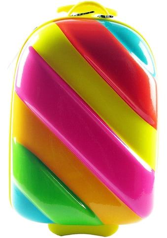 CHIC2000 Kinderkoffer »Bouncie, Rainbow«, 2 Rollen, Hartschalen-Trolley kaufen