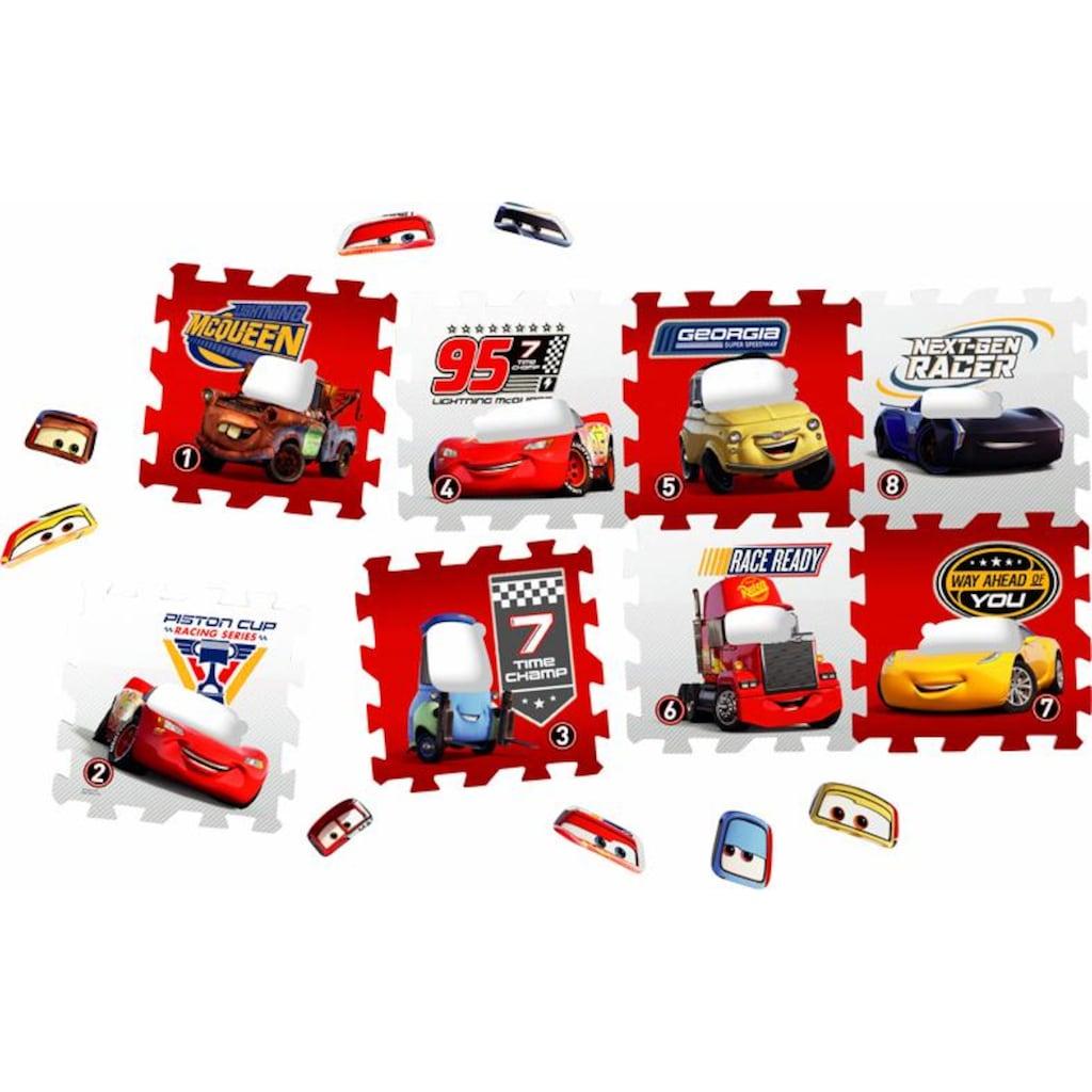 Knorrtoys® Puzzle »Disney/Pixar Cars«, Puzzlematte, Bodenpuzzle