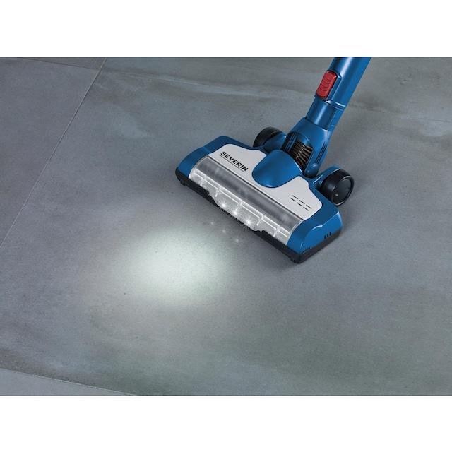 Severin Akku-Stielstaubsauger HV 7160 - S´SPECIAL carPET & carpets Li 30, 220 Watt, beutellos