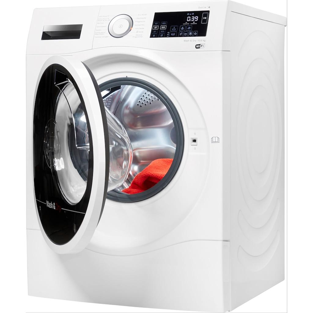 BOSCH Waschtrockner »WDU28512«, 6