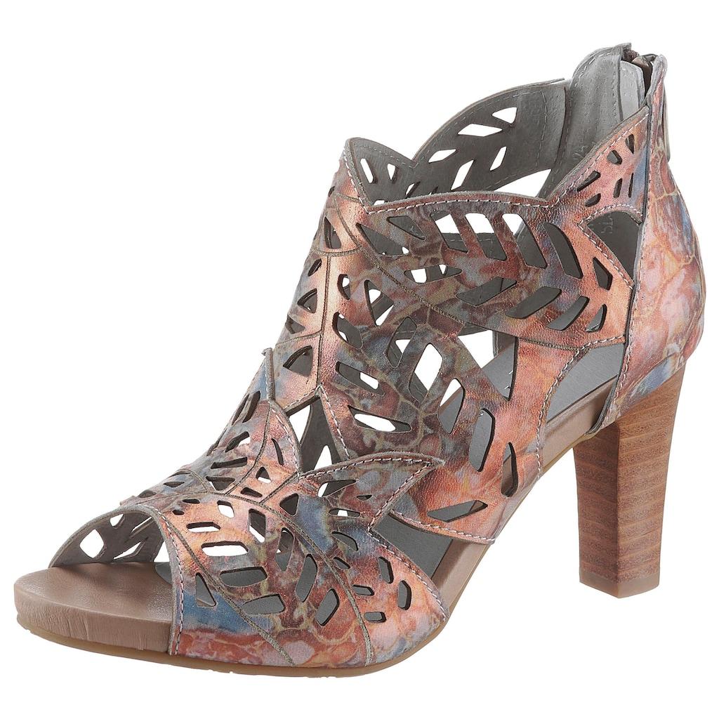 LAURA VITA Sandalette »Alcbaneo«, mit schönem Metallic-Schimmer