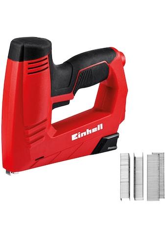 EINHELL Elektrotacker »TC - EN 20 E«, inkl. 1000 Klammern und 500 Nägeln kaufen