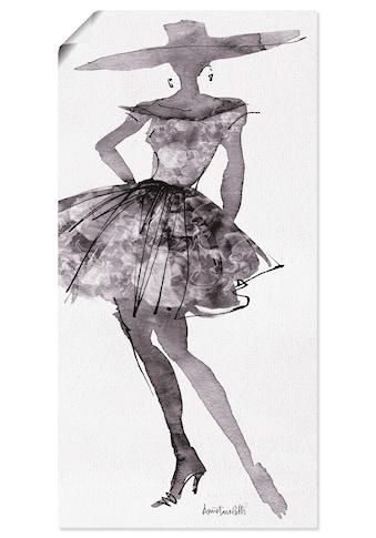 Artland Wandbild »Mode Skizzenbuch V«, Mode, (1 St.), in vielen Größen & Produktarten... kaufen