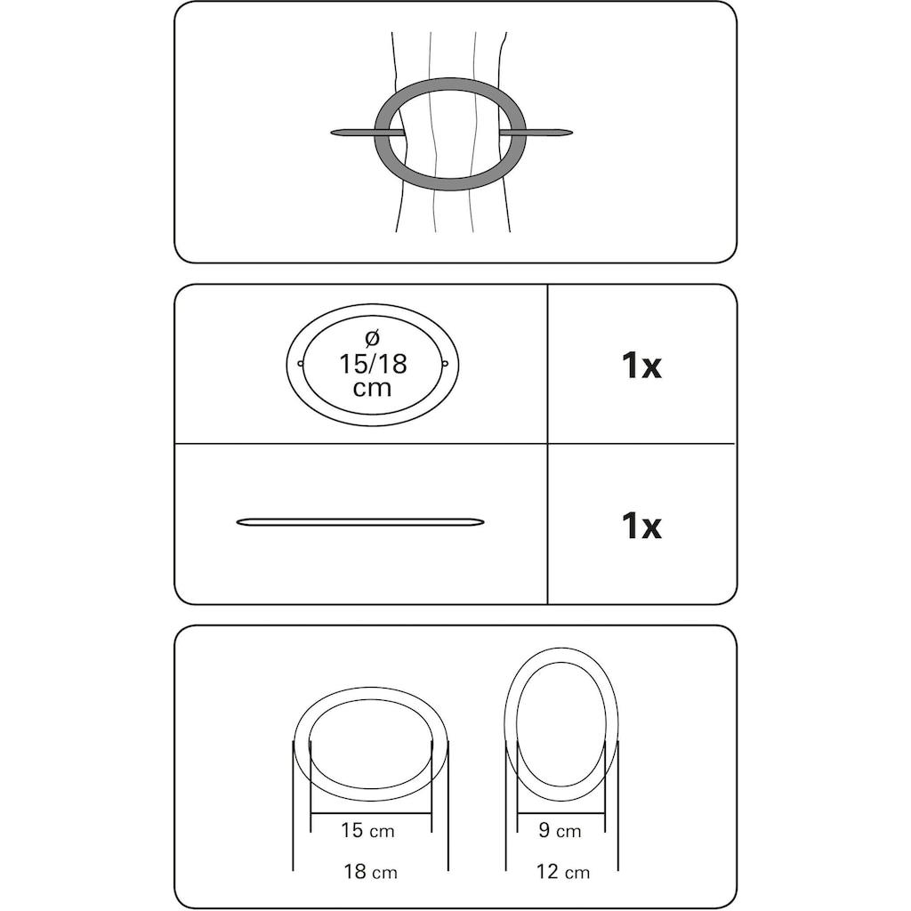 GARDINIA Dekoklammer »Dekoring Oval, Kunststoff«, (1 St.)