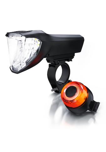 Aplic LED Akku Fahrradlichter mit Front & Rücklicht »Fahrradlampen Set / erfüllt StVZO (K1466)« kaufen