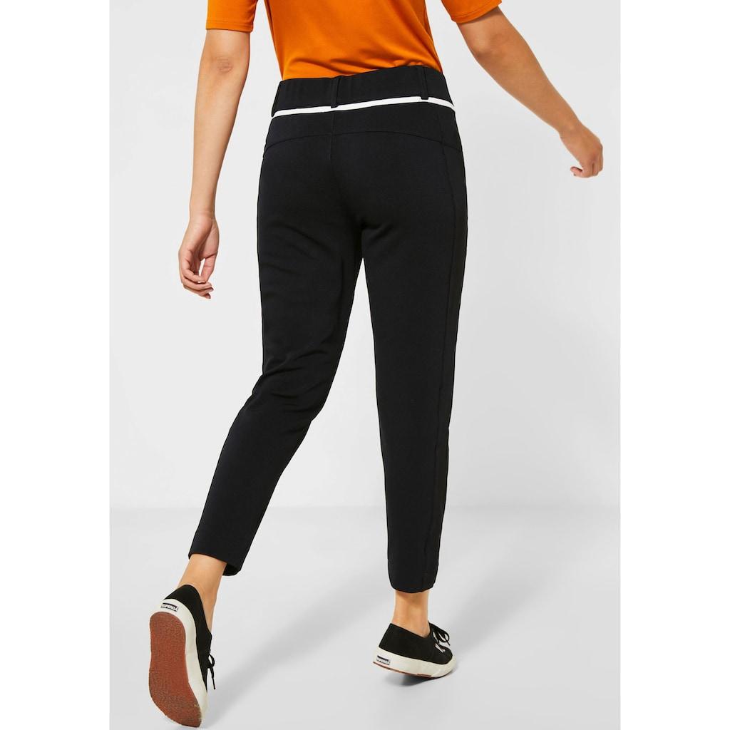 STREET ONE Jogger Pants »Bonny«, mit aufgesetzten Reißverschlusstaschen