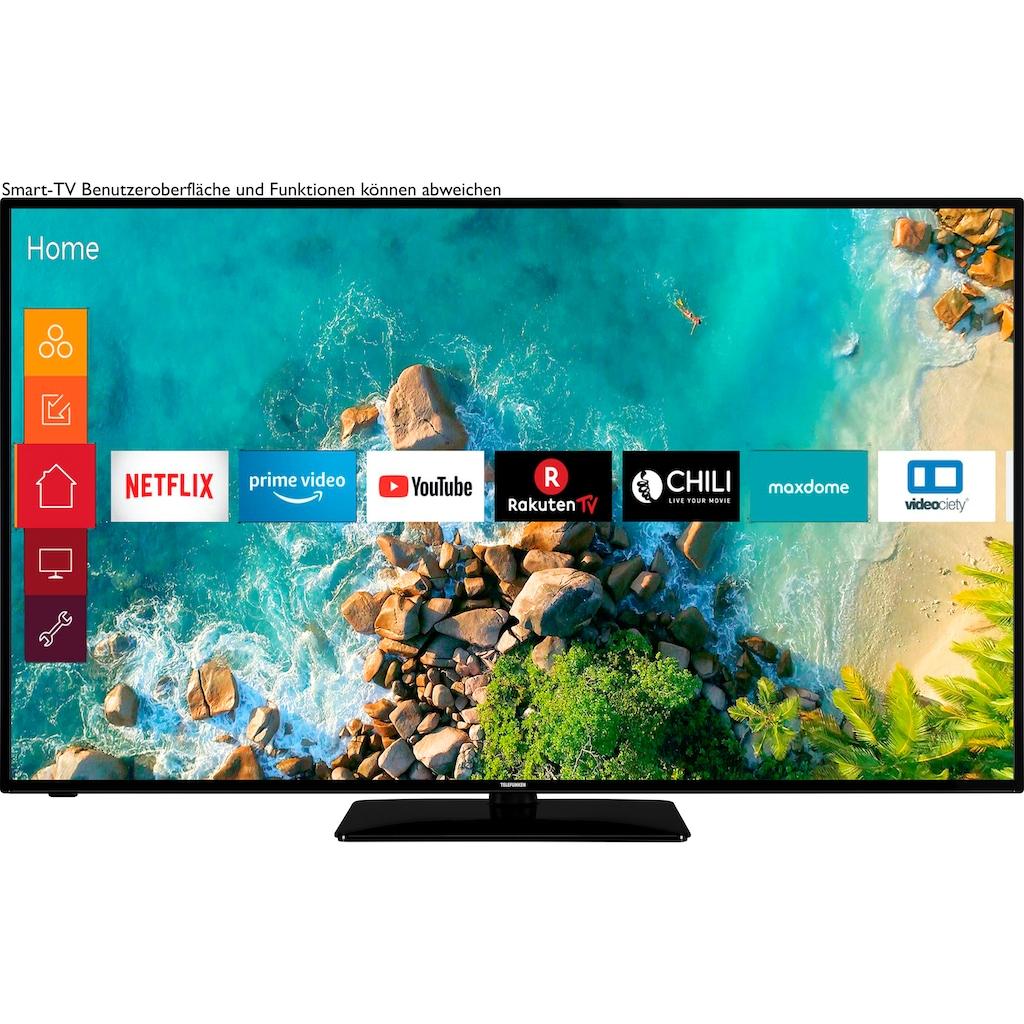 """Telefunken LED-Fernseher »D58U553M1CW«, 146 cm/58 """", 4K Ultra HD, Smart-TV, Gratis: 6 Monate HD+ im Wert von 34,50€ über die HD+ App"""