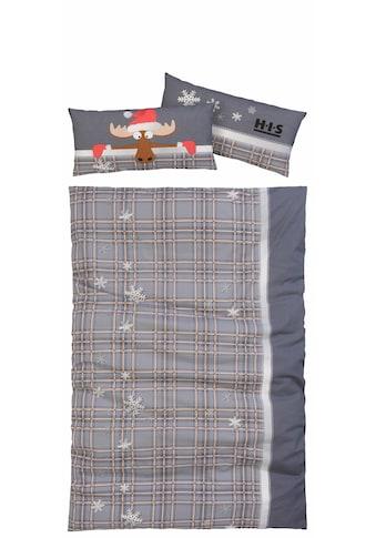 Bettwäsche »Elch«, H.I.S kaufen