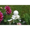 Spalier »mit Pflanzkasten 43 cm, weiß«