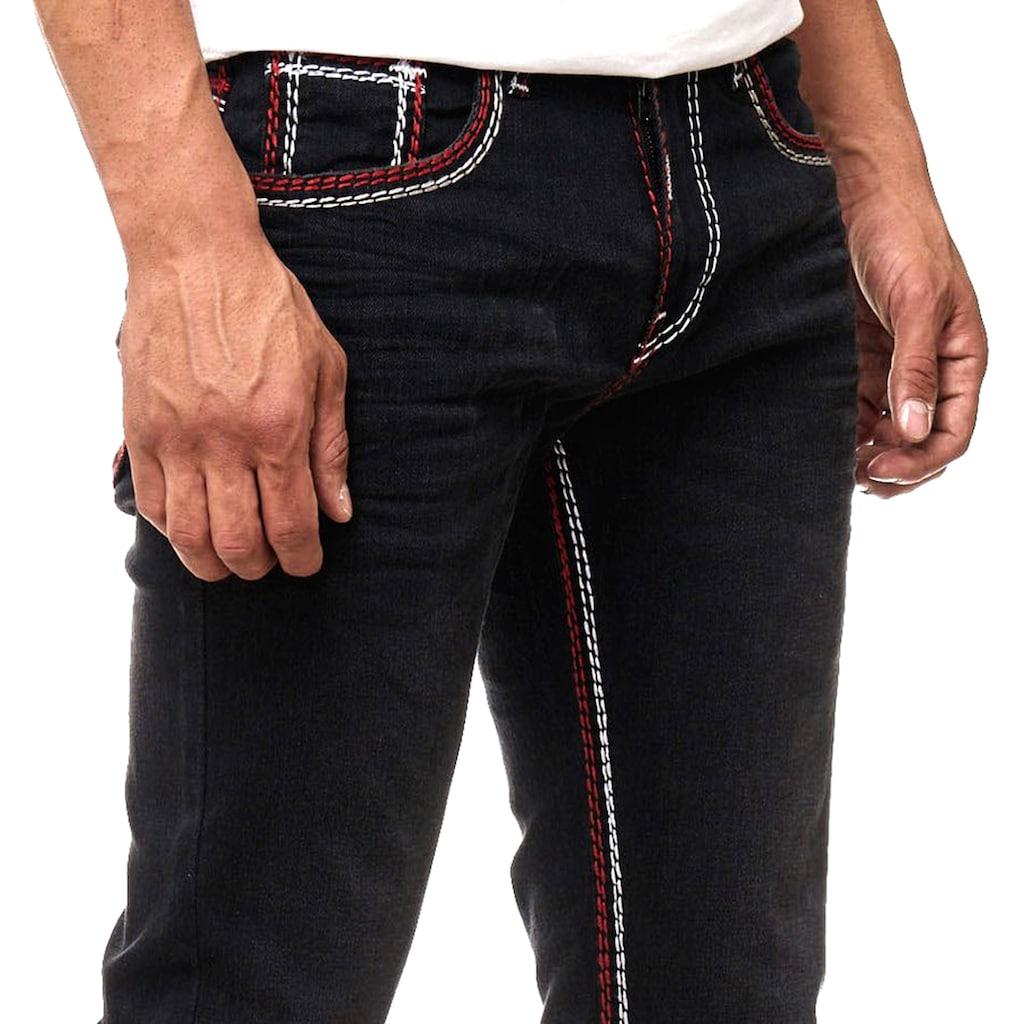 Rusty Neal Jeans mit dezenter Waschung