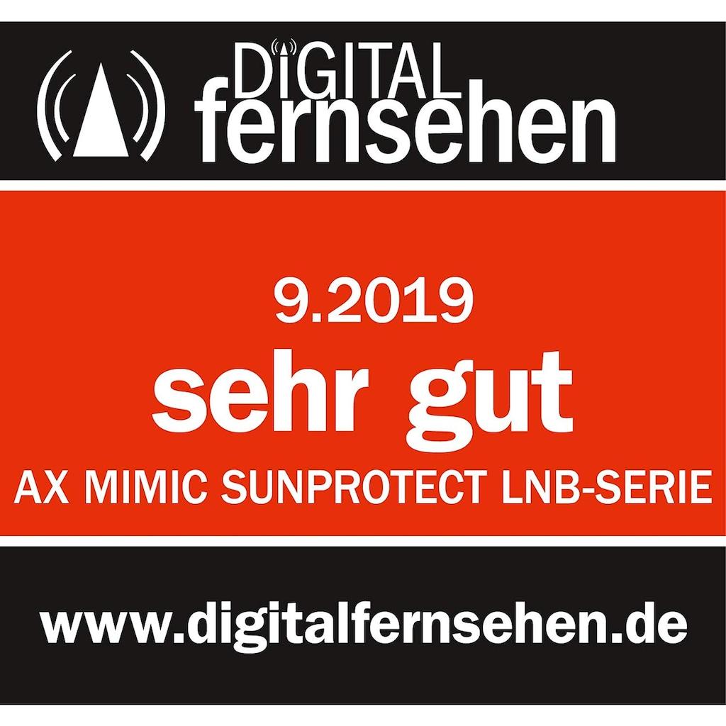 Opticum Red »AX MIMIC Sunprotect« Universal-Twin-LNB (2 Teilnehmer)
