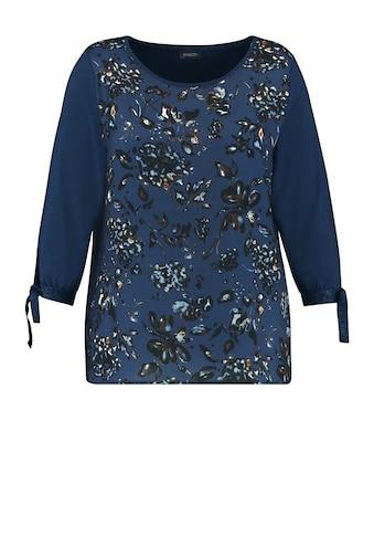 Samoon Rundhalsshirt »Blusenshirt mit Schleifenzier« kaufen