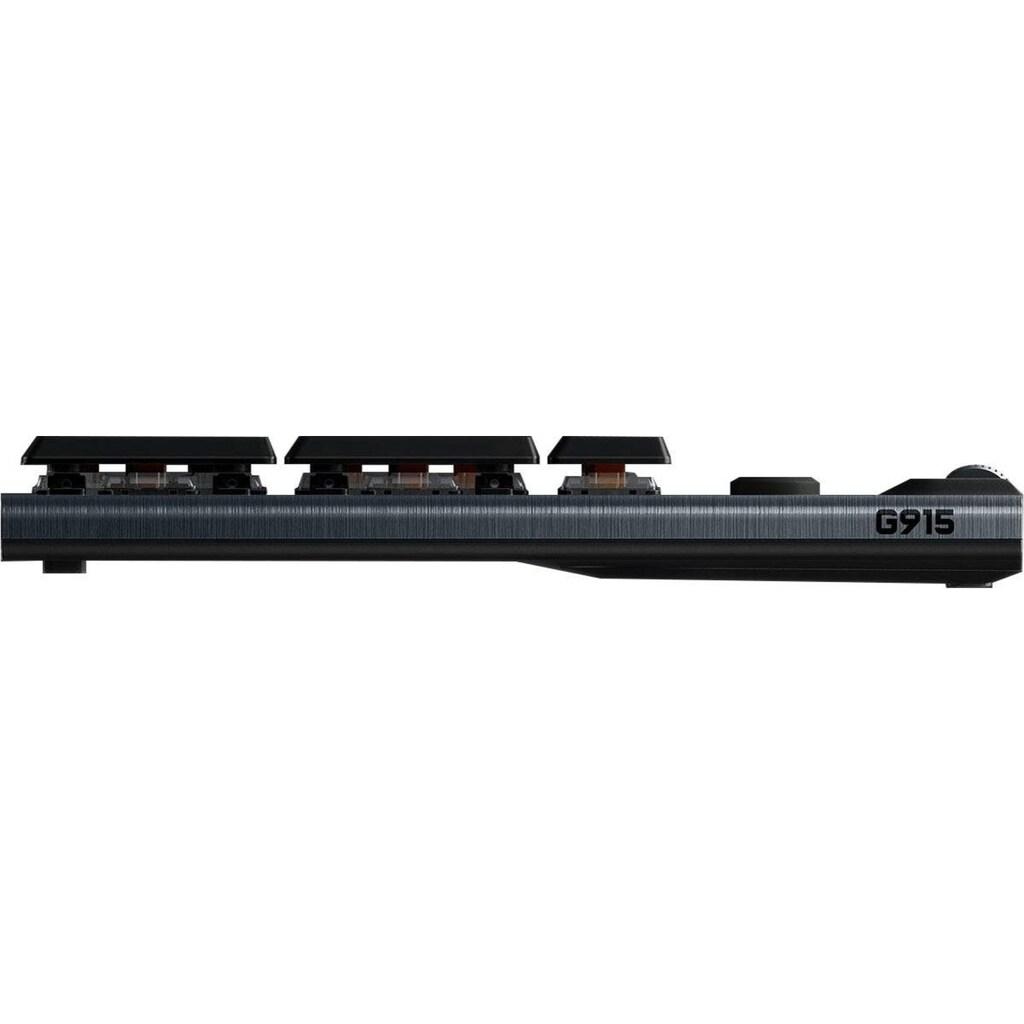 Logitech G Gaming-Tastatur »G915 LIGHTSPEED tactile«