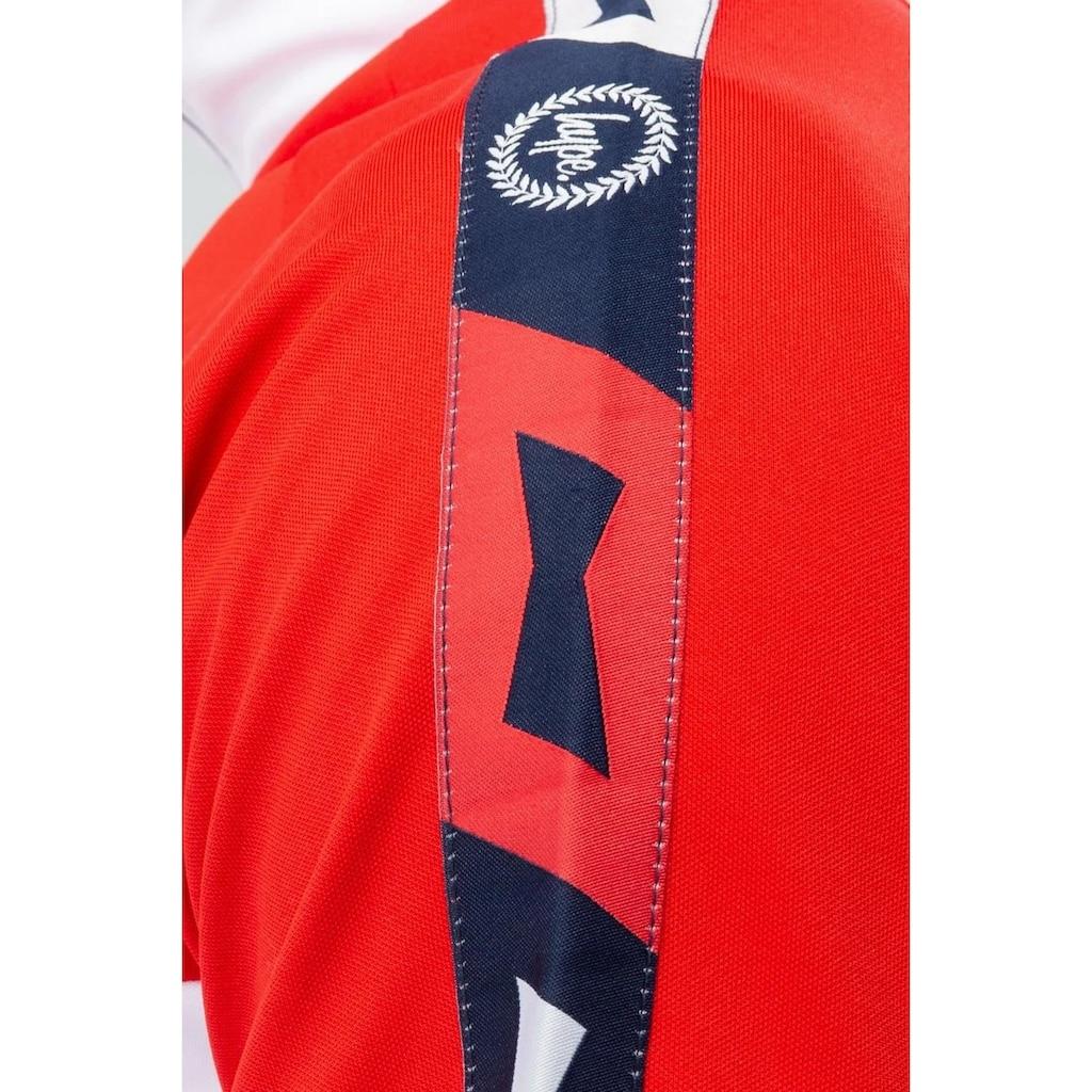 Hype Trainingsjacke »Budweiser Herren Farbblock Quarter Zip Jacke«