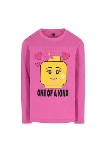 """LEGO® Wear Langarmshirt »M-22612«, """"Druck mit gelbem LEGO Kopf"""" kaufen"""