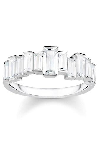THOMAS SABO Silberring »Weiße Steine, Baguette-Schliff, TR2269-051-14-50, 52, 54, 56,... kaufen