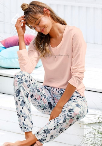 Vivance Dreams Pyjama, mit Blumenmuster in Aquarelloptik kaufen