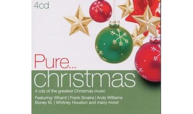 Musik - CD Pure...Christmas / Various, (4 CD) kaufen