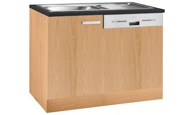 OPTIFIT Spülenschrank »Odense«, Gesamtbreite 110 cm, mit Tür/Sockel für... kaufen