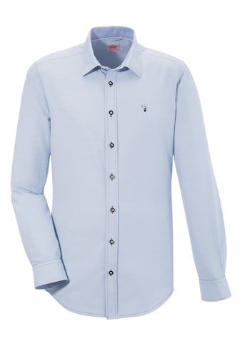 Spieth & Wensky Trachtenhemd, mit feinem Strukturmuster kaufen