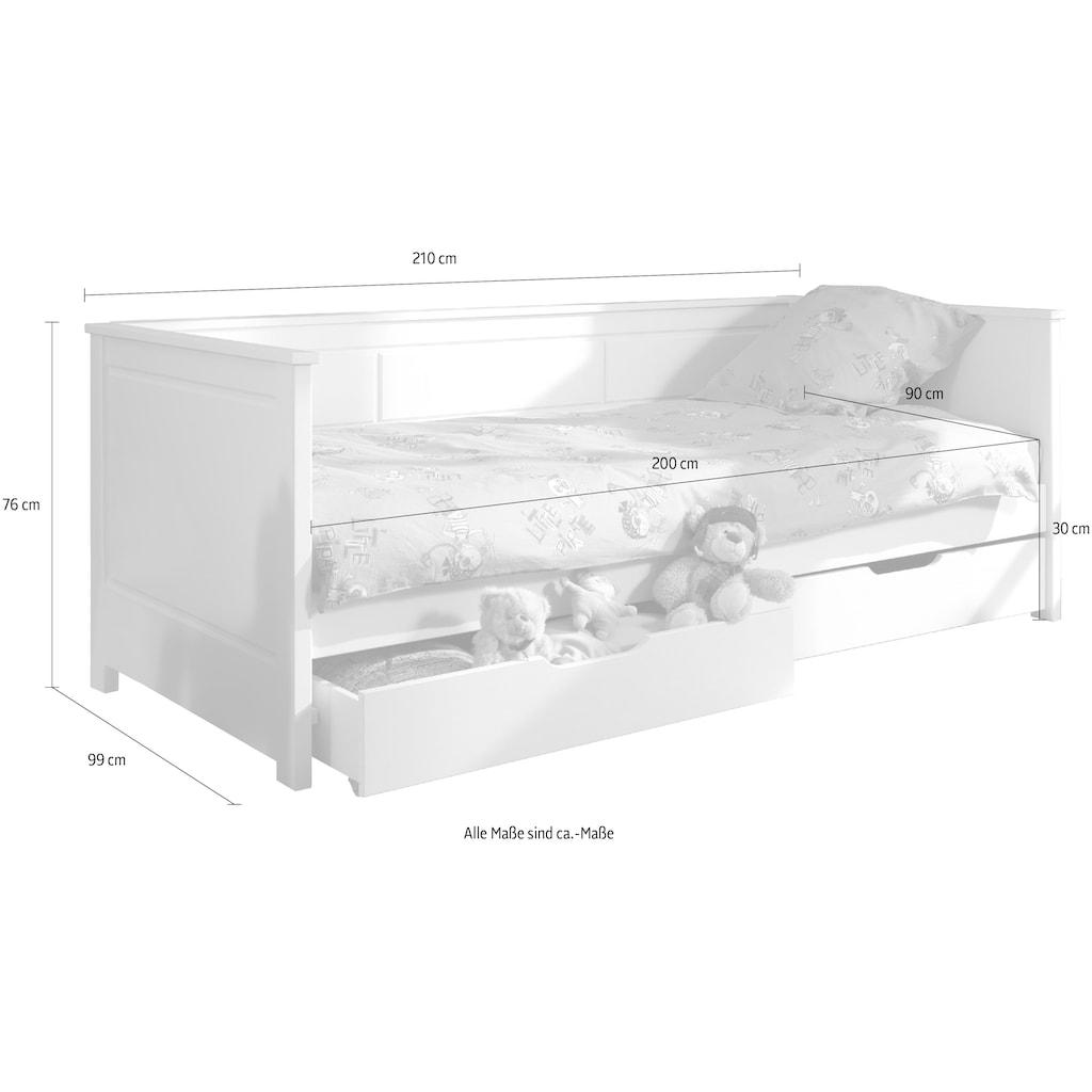 Vipack Daybett »Pino«, mit 2 Schubladen