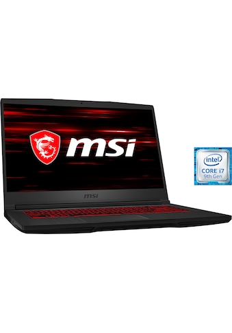 MSI GF65 9SD - 023 Thin Gaming - Notebook (39,6 cm / 15,6 Zoll, Intel,Core i7,  -  GB HDD, 512 GB SSD) kaufen
