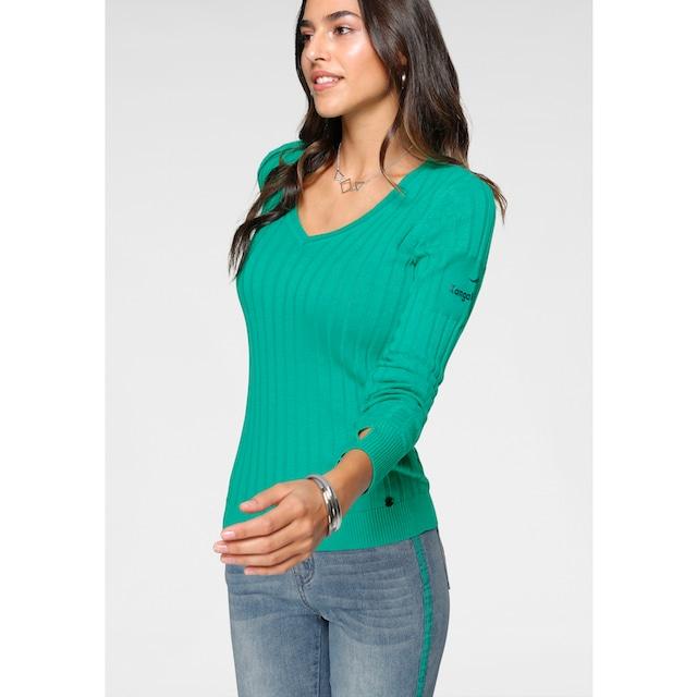 KangaROOS V-Ausschnitt-Pullover