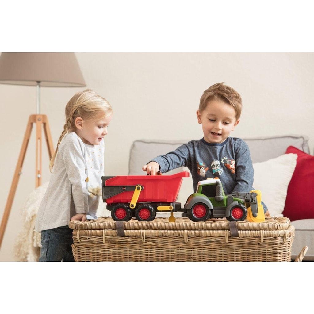 Dickie Toys Spielzeug-Traktor »Happy Series Farm Trailer Fendt«, mit Licht und Sound