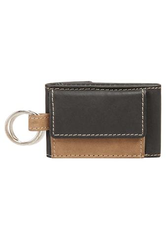 BODENSCHATZ Schlüsseltasche »BICOLOUR«, Schlüsselanhänger kaufen
