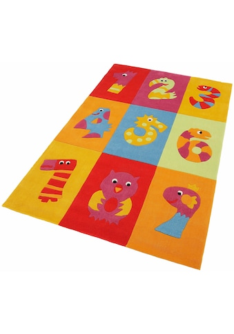 THEKO Kinderteppich »Dhanbad«, rechteckig, 15 mm Höhe, Kurzflor, handgearbeiteter... kaufen
