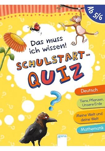 Buch »Das muss ich wissen. Schulstart-Quiz (ab 5/6) / Helen Seeberg, Angela Gstalter« kaufen
