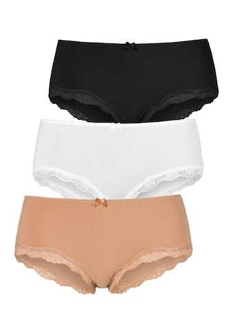 LASCANA Panty, mit zarter Spitze kaufen