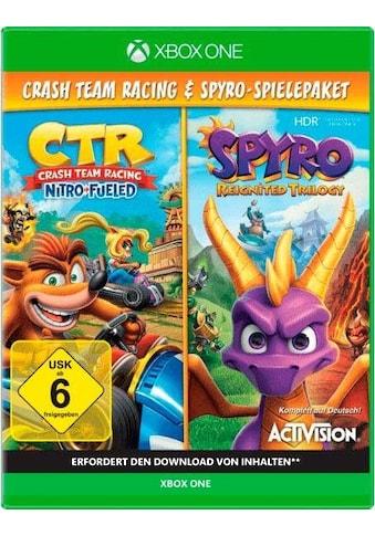 CTR Crash Team Racing Nitro Fueled + Spyro Reignited Trilogy Xbox One kaufen