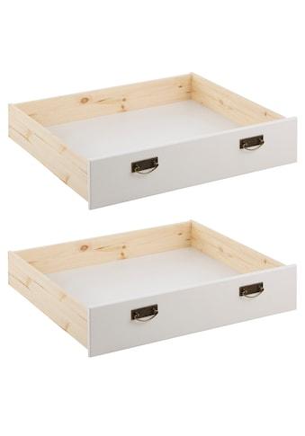 Home affaire Schublade »Madrid«, aus Massivholz, der Unterboden ist aus einer... kaufen