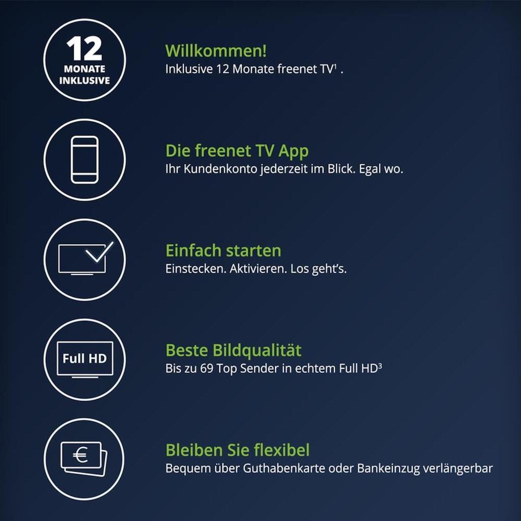 freenet TV CI+-Modul »CI+ Modul 12 Monate Guthaben¹ + Starflex T4«, DVB-T2 HD, Bundle, Fernsehen