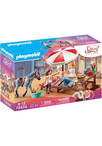 Playmobil® Konstruktions-Spielset »Miradero Süßigkeitenstand (70696), Spirit Untamed«,... kaufen