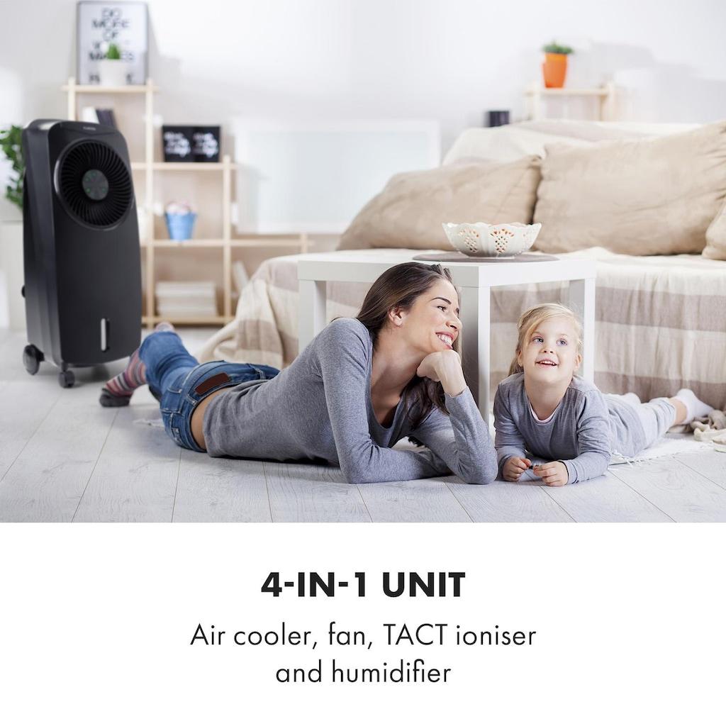 Klarstein Rotator Luftkühler 110W 8h-Timer Fernbedienung schwarz »Luftkühler 10033542«