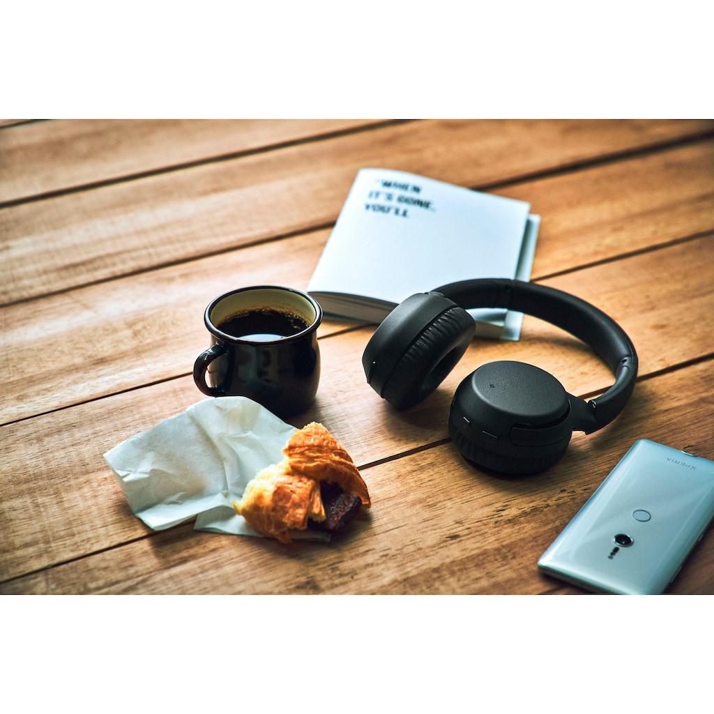 Sony Bluetooth-Kopfhörer »WH-XB700«, Bluetooth-NFC, Freisprechfunktion, Headset mit Mikrofon, Amazon Alexa & Google Assistant, Gestensteuerung