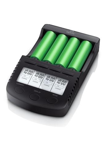 Aplic Power Akku-Ladegerät mit USB-Ladeport »für Li-ion / 18650 / Ni-MH / Ni-CD Akkus« kaufen