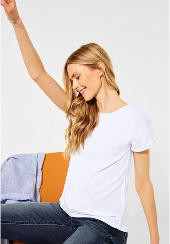 Cecil Rundhalsshirt, im Basic-Style kaufen