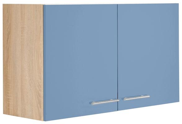 Küchenhängeschrank in Blau